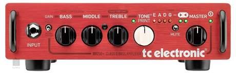 TC ELECTRONIC BH 250 Baskytarový tranzistorový zesilovač
