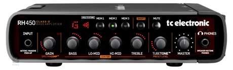 TC ELECTRONIC RH 450 Baskytarový tranzistorový zesilovač