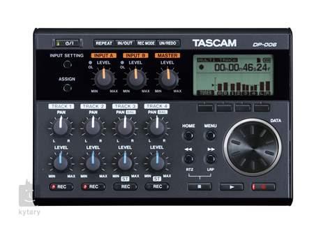 TASCAM DP-006 Multistopý rekordér