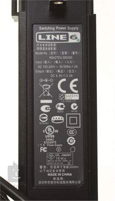 LINE 6 DC-3G Síťový adaptér