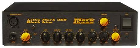 MARKBASS Little Mark 250 Black Baskytarový tranzistorový zesilovač