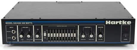 HARTKE HA5500 Baskytarový hybridní zesilovač