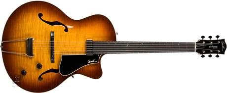 GODIN 5th Avenue Jazz Sunburst HG Semiakustická kytara