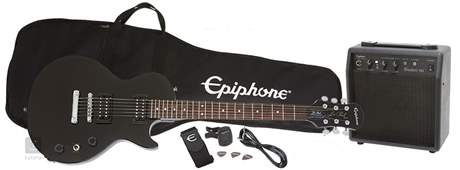 EPIPHONE Les Paul Player Pack EB Kytarový komplet