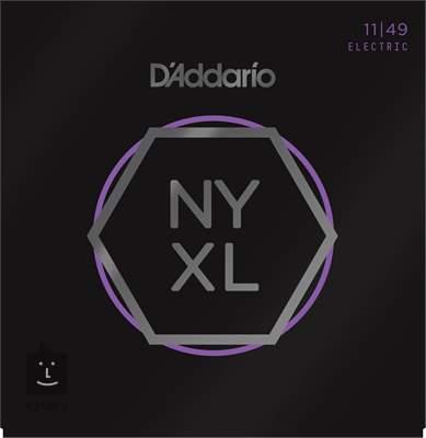 D'ADDARIO NYXL1149 Struny pro elektrickou kytaru