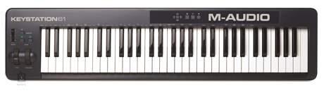 M-AUDIO Keystation 61 II USB/MIDI keyboard