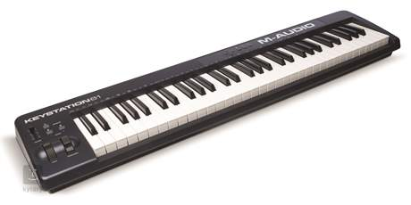 M-AUDIO Keystation 61 II (rozbalené) USB/MIDI keyboard