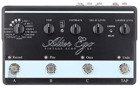 TC ELECTRONIC Alter Ego X4 Vintage Echo (rozbalené) Kytarový efekt