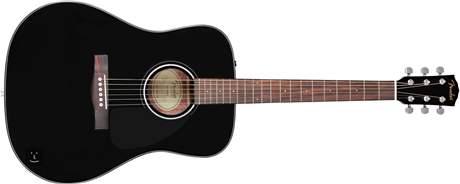 FENDER CD-60 BK Akustická kytara