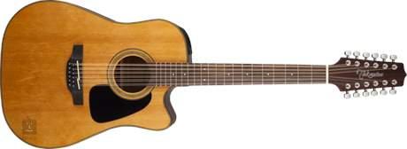TAKAMINE GD30CE-12-NAT Dvanáctistrunná elektroakustická kytara