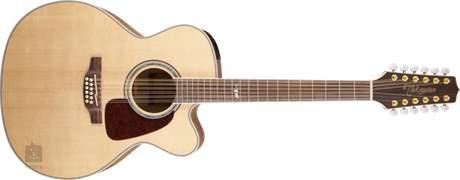 TAKAMINE GJ72CE-12-NAT Dvanáctistrunná elektroakustická kytara