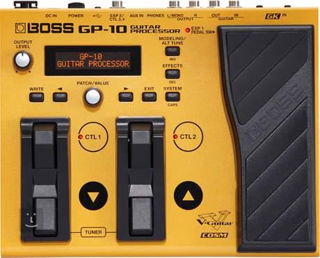 BOSS GP-10S Kytarový multiefekt