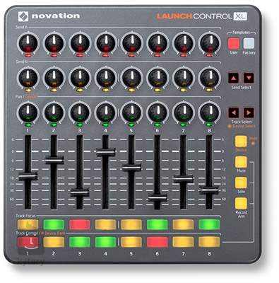 NOVATION Launch Control XL USB/MIDI kontroler