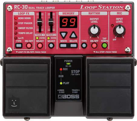 BOSS RC 30 Loop Station Kytarový looper
