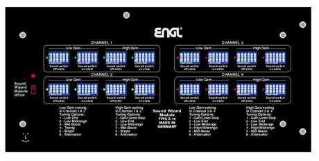 ENGL Z16 Zvukový modul