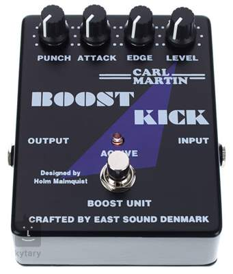 CARL MARTIN Boost Kick Kytarový efekt