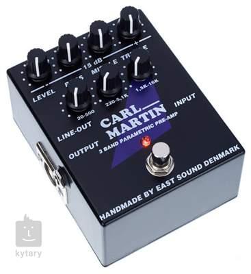CARL MARTIN 3 Band Parametric Pre-Amp Kytarový efekt