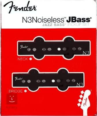 FENDER N3 Noiseless Jazz Bass Set Set snímačů pro elektrickou baskytaru