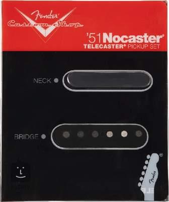 FENDER Custom Shop 51 Nocaster Pickups Set Set snímačů pro elektrickou kytaru