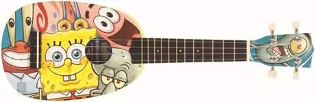 SPONGEBOB Pineapple Ukulele Outfit Akustické ukulele