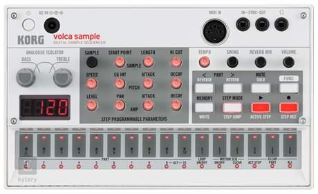 KORG Volca Sample Digitální sample sekvencer