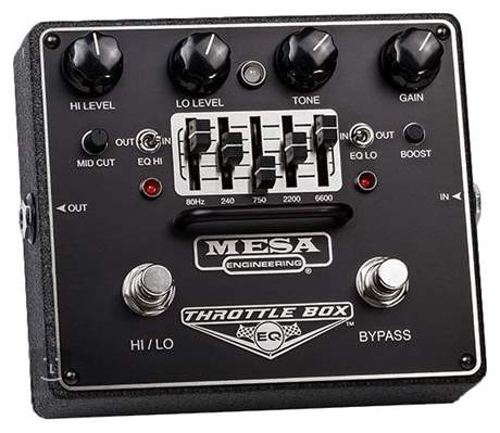 MESA BOOGIE Throttle Box EQ Kytarový efekt