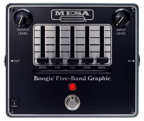 MESA BOOGIE Five-Band Graphic EQ Kytarový efekt