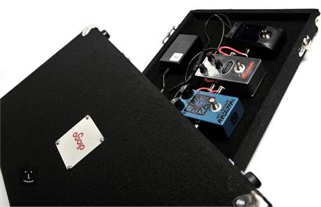 DIAGO Tourman Hard Case Pedal Board Pedalboard