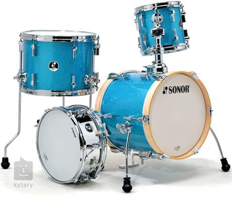 SONOR Martini Special Edition set Turquois Galaxy Sparkle Bicí souprava