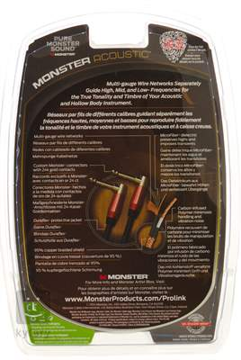 MONSTER M ACST2-0.75DA Propojovací kabel
