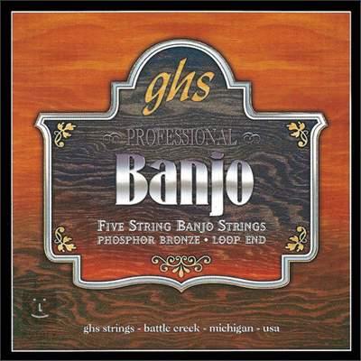 GHS PF150 Struny pro pětistrunné banjo