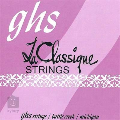GHS 2350 Nylonové struny pro klasickou kytaru