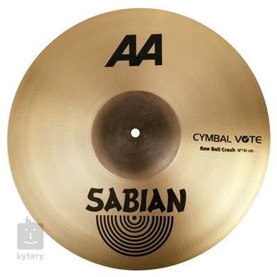 "SABIAN 18"" AA Raw Bell crash Činel crash"