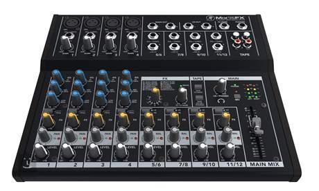 MACKIE Mix12FX Analogový mixážní pult