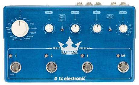 TC ELECTRONIC Flashback Triple Delay Kytarový efekt