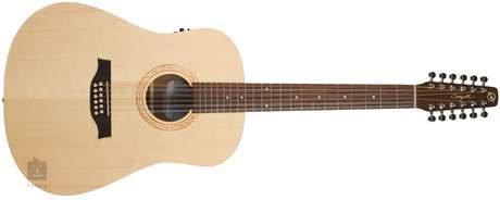 SEAGULL Walnut 12 Isys t Dvanáctistrunná elektroakustická kytara