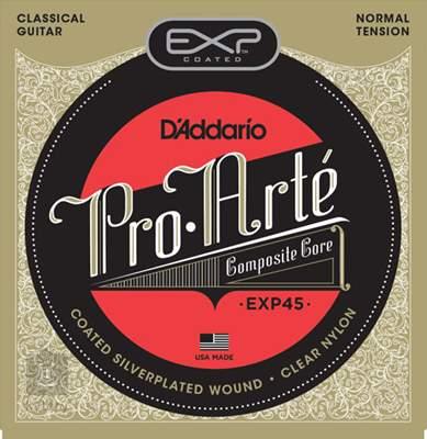 D'ADDARIO EXP45 Nylonové struny pro klasickou kytaru