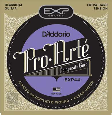D'ADDARIO EXP44 Nylonové struny pro klasickou kytaru