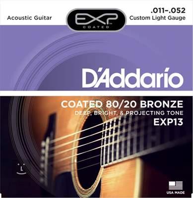 D'ADDARIO EXP13 Kovové struny pro akustickou kytaru