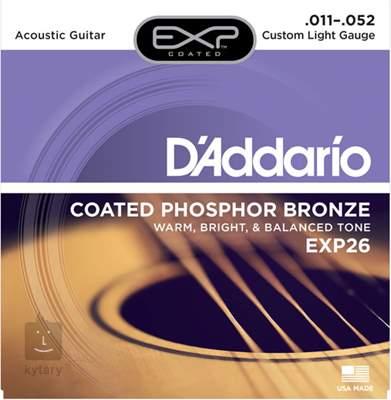 D'ADDARIO EXP26 Kovové struny pro akustickou kytaru