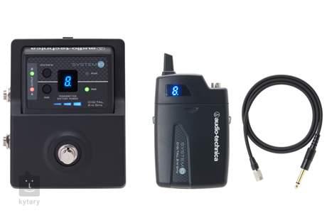AUDIO-TECHNICA ATW-1501 System 10 Kytarový/baskytarový bezdrátový set