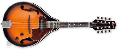 IBANEZ M510E-BS Elektroakustická mandolína