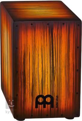 MEINL HCAJ2AMTS Amber Tiger stripe Cajon