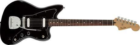 FENDER Standard Jazzmaster HH RW BK Elektrická kytara