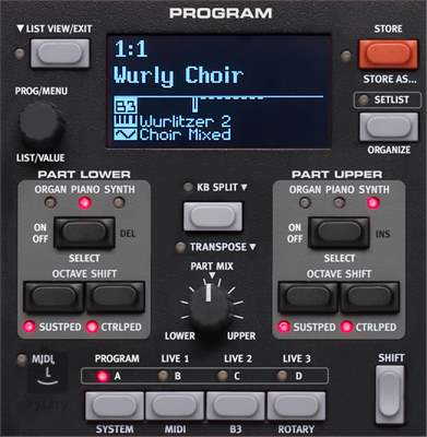 NORD Electro 5 HP 73 Přenosné digitální stage piano, varhany