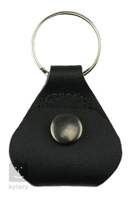 PERRI'S LEATHERS Pick Keychain Black Držák trsátek