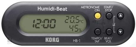KORG Humidi-Beat BK Metronom s vlhkoměrem