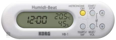 KORG Humidi-Beat WH Metronom s vlhkoměrem