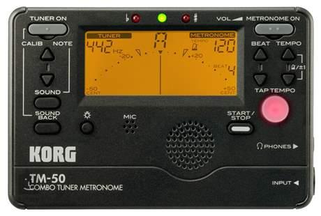 KORG TM-50 BK Ladička s metronomem