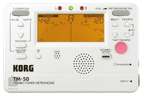 KORG TM-50 PW Ladička s metronomem